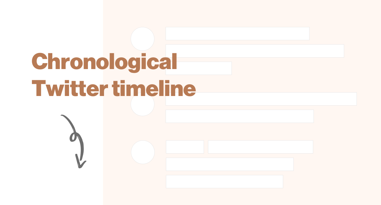 View the chronological timeline on Twitter